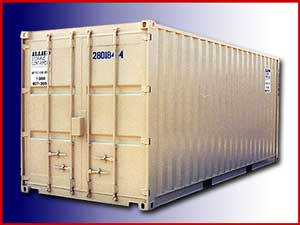 Standard steel rental containers